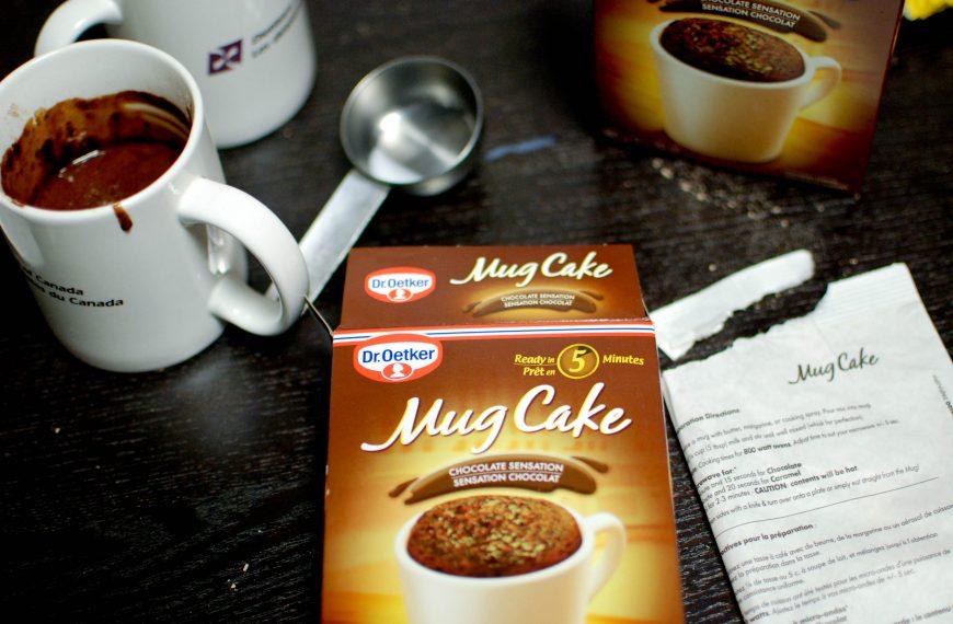 Food Lab: Mug cake