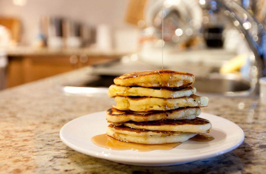 Pumpkin Pancakes – regular vs. whole-wheat flour