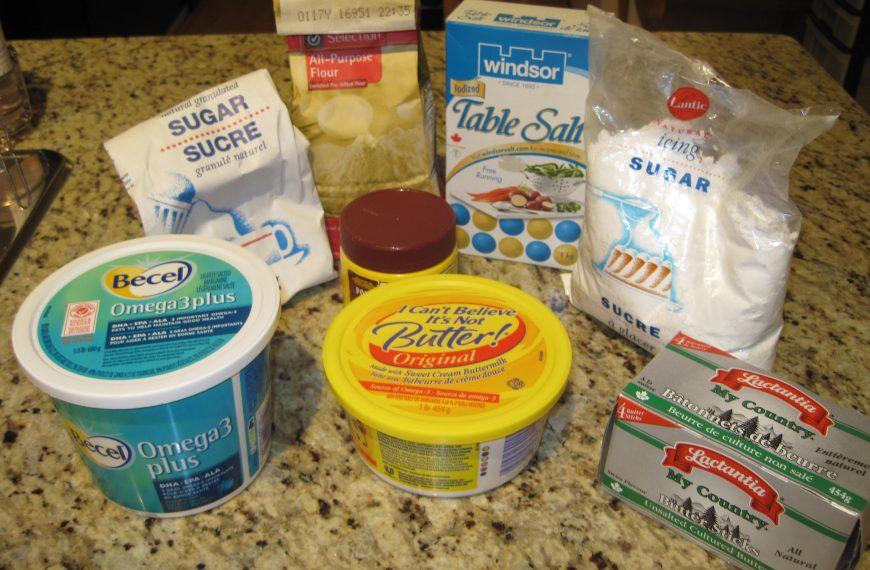 Food Lab: Shortbread cookies (butter vs. margarine)
