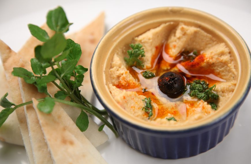 Hooray for hummus