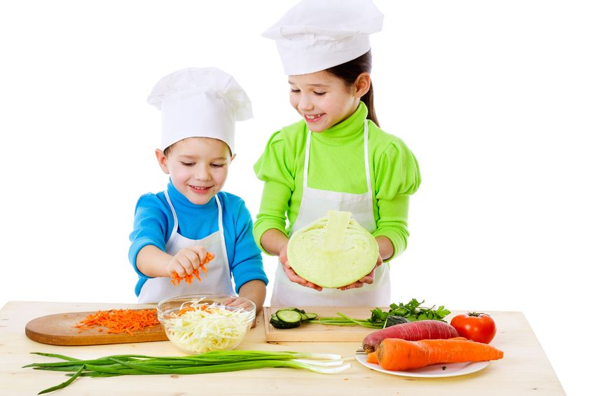 Teaching kid's in the kitchen classes