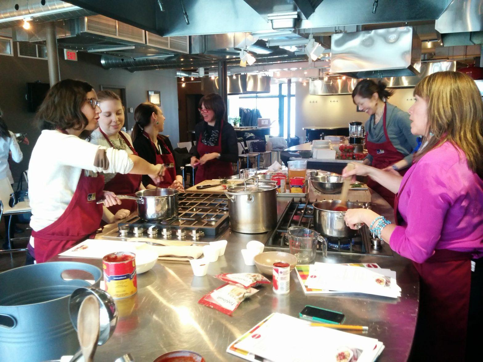 dietitians cooking lentils