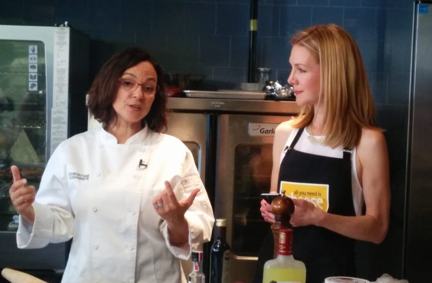 Master cheese class with Chef Christine Cushing