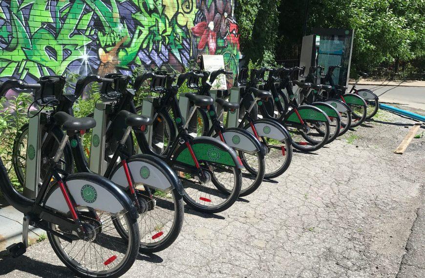 Bikeshare station