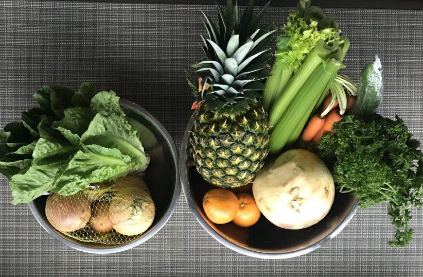 Storing and freezing produce